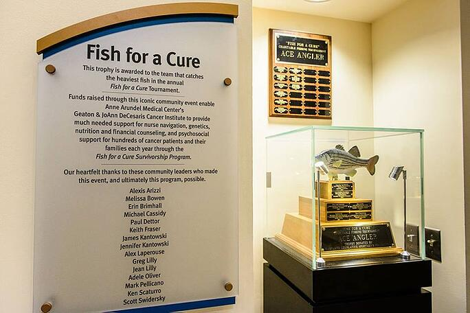 fish for a cure receives a check
